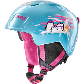 UVEX Manic Helm Kinder mint penguin